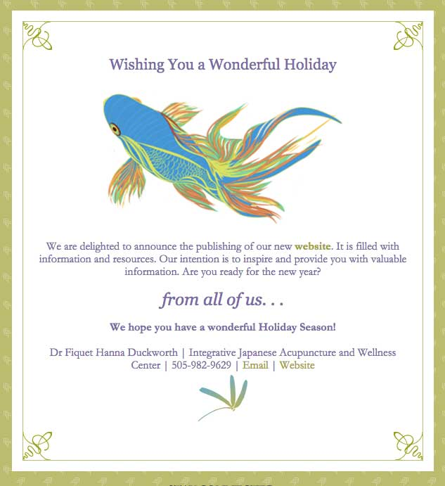 Holiday Greeting 2015